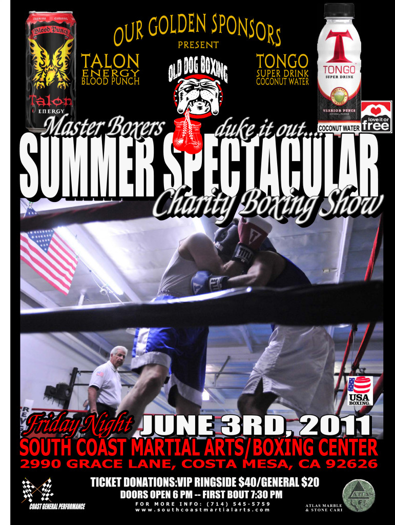 Old Dog Boxing Show June 3 2011