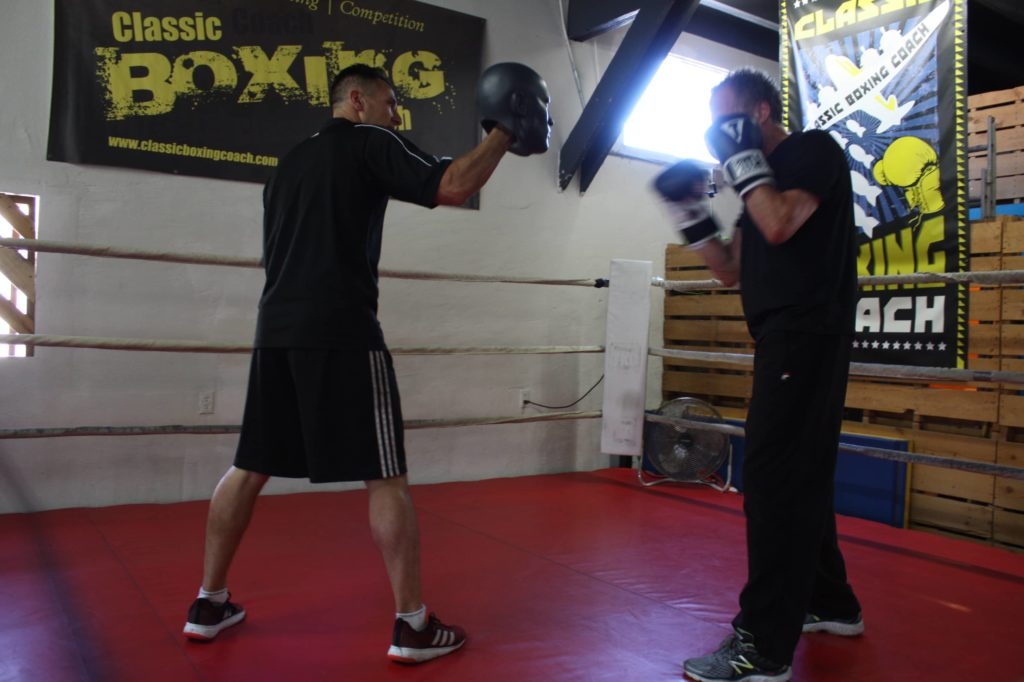 do boxing classes teach you how to fight