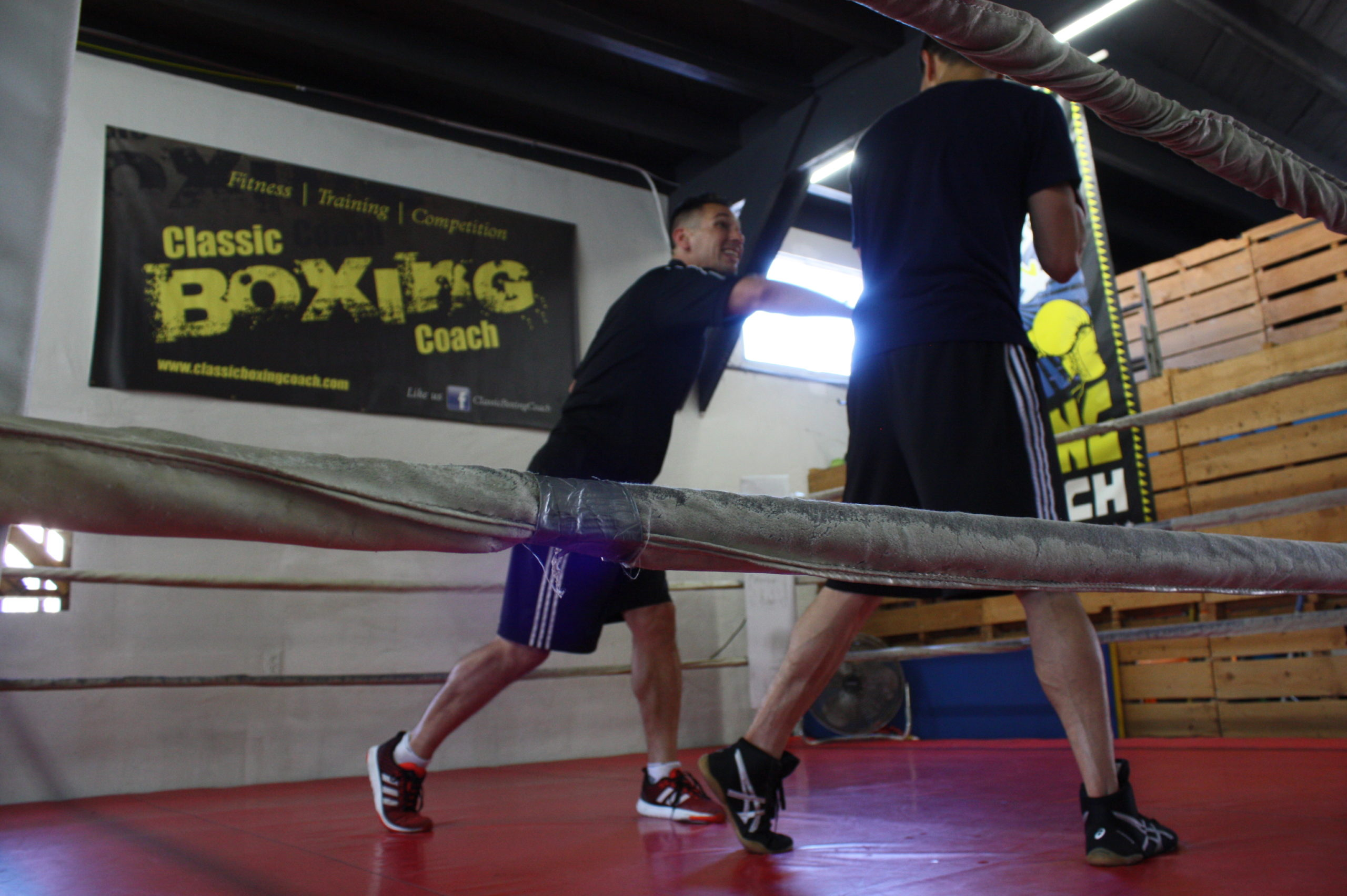 What makes a good boxing trainer